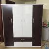 Tủ nhựa Đài Loan 4 cánh 2 ngăn DL4C1